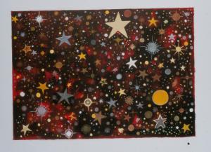 Cosmos aux étoiles, Brigitte Moreau Serre